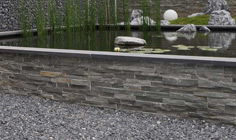 Stone Panels Grey Quarzite 1