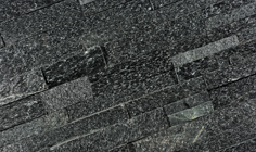 Stone Panels Black Quarzite