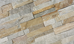 Stone Panels Golden Quarzite