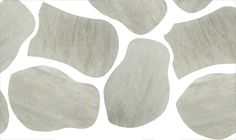 Flagstones Autumn Grey per stuk